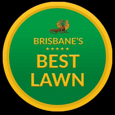 Brisbane's Best Lawn Badge